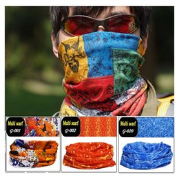 Wholesale Outdoor sports equipment Variety scarf riding high elastic seamless magic scarf g01 g20