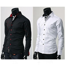 Mens Button Down Long Sleeve Shirts