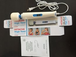 Wholesale 10 Velocidad Magic Wand Massager AV vibrador con de velocidad Hitachi vara vara Massager juguetes para la mujer