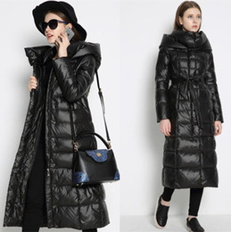 Ladies Long Down Coat - Sm Coats