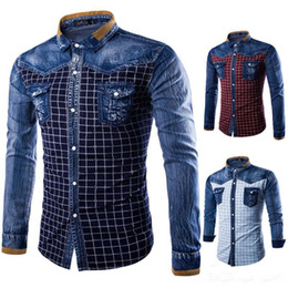 Discount Mens Denim Shirt Sale | 2017 Mens Denim Shirt Sale on