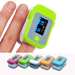 Wholesale PO EE NEW Oximeter with Pulse Sound Audio Alarm OLED Fingertip oxymeter spo2 PR monitor Blood Oxygen Pulse Oximeter Freeshipping