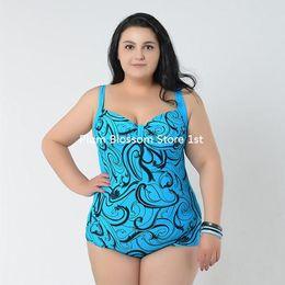 Wholesale 2016 Summer Sexy bikini Big Women Beachwear Vintage Swimwear One Piece Bathing Suits For Women Swimsuit Plus Size Swimming Suit