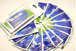Wholesale pc Hydrogen Peroxide Teeth Whitening Strips applications Double Elastic Gel Strips DHL