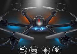 mise à niveau FPV drone MJX X600 2.4G 6 Axe RTF RC Quadcopter Drone peut ajouter C4005 caméra avec un bouton de retour clé