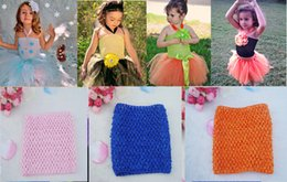 Wholesale 2016 baby girls quot tutu crochet tutu tube toddler baby chest wrap tutu top Diy meterial