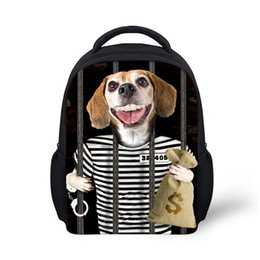 Discount Kids Backpack Dog Print | 2017 Kids Backpack Dog Print on ...