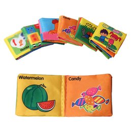 Wholesale Lamaze Toy Baby Toys Baby cloth book knowledge around multi touch multifunction fun and colorful baby fabric book