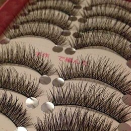 Wholesale Beauty black Eyelash Extension Professional New Handmade set Pairs Thick Volume Cross Long False Fake Eyelashes Eye Lashes Makeup Tool