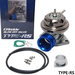 Universal Adjustable Billet Aluminum GREDDY TYPE RS 25psi Turbo Blow off valve TYPE-RS (original color box,HQ)