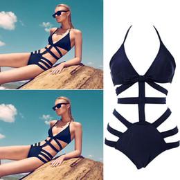 Wholesale swimwear Details about Women HOT Sexy Swimsuit Swimwear Swim Bath Push Up Padded Monokini Bikini