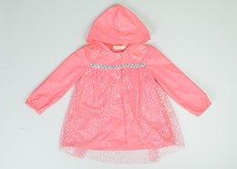 Wholesale New Frozen Fashion Baby Girls frozen raicoat Clothes Snow Queen Elsa Blue Pink Gauze Coat Princess Anna Raincoat Jacket