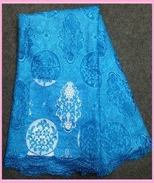 Wholesale 2015 latest arrival Lace Fabric swiss voile printed chemical water soluble women lace for sewing wedding dress yards fast shipping