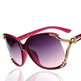 Wholesale Full Metal leopard Head Frame Large Frame Oculos de Sol Gafas Vintage Eyeglasses Women Brand Designer Sunglasses TOP Grade