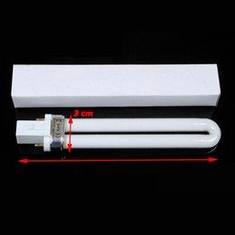 9W ногтей УФ лампы гель автомат Лампа сушилка для ногтей УФ отверждения лампы трубки для ногтей Сушилка,рзэ доставка DHL #6819