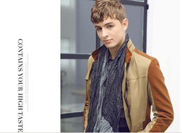 Wholesale 2014 New Hot European and American Fashion Mens Upscale Leisure and Business Jacket LX311