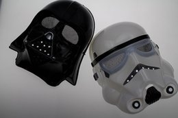 Wholesale 20pcs hot sale New Halloween Festival horror mask Star Wars the Darth vader mask color