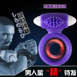 Wholesale Electric Silicone Stretchy Vibrating Cock Ring Men delay cock rings vibrating penis rings silicone sex toys