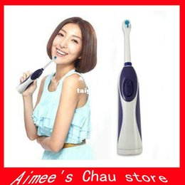 Wholesale 2PCS Electric toothbrush waterproof automatic toothbrush Adult Children Oral Hygiene Dental Care