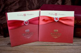 Wholesale CUSTOMISED WEEDING CARD WEEDING INVITATIONS EUROPEAN STYLE WEDDING INVITATION CARD