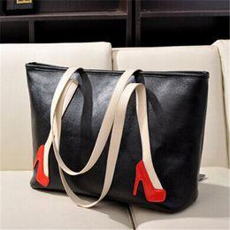 Large leather handbags cheap