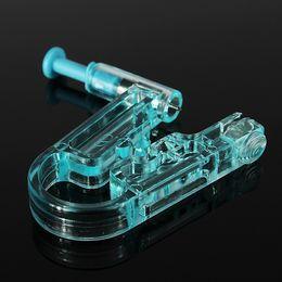 Wholesale New Arrive Women No Pain Ear Piercing Kit Disposable Safe Sterile Body Piercing Gun Stainless Steel Stud Alcohol Prep Pad