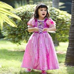 Wholesale Cinderella Dress ElsaPrincess Baby Dress Girsl CartoonTutu Lece Dress Baby Ball Gown Dresses For Party Christmas Dress Cosplay Dress