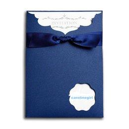 Wholesale Carolinegirl zh001 envelope style Offical invitations