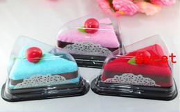 Wholesale 10pcs Cute Sandwich Style Towel Cotton Creative Towels For Wedding Party Birthday Favor Gift Souvenirs Souvenir