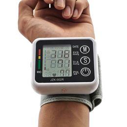 Wholesale New Health Care Automatic Wrist Digital Blood Pressure Monitor Portable Tonometer Meter For Blood Pressure Meter Oximetro de dedo