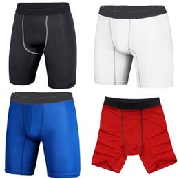 Wholesale S Mens Athletic Compression Base Layer Tights Sport Shorts Running Short Pants
