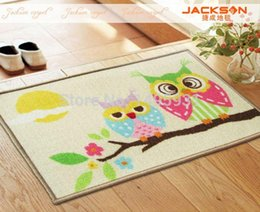 Owl Childrenu0027s Rugs Mats Christmas Good Skid Resistance High Quality Safety  Environmental Protection Latex Wearable