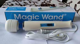 Wholesale Buena calidad Hitachi Magic Wand Massager Vibradores AV potentes magia varitas de cuerpo completo personal Equipos de masaje caja de embalaje HV260 HV V