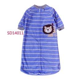 Wholesale 45pcs Spring and autumn Swaddle Newborn Sleeping bags fleece Long sleeve Sleeping bag Variety You can choose HX