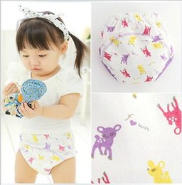 Wholesale Infant cloth diapers sika deer Layer baby learning pants leakage proof breathe freely toddler baby briefs GR215