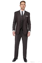 Wholesale The groom dress custom side seam best man is suitable for the best man men s suits the groom wedding coat pants vest