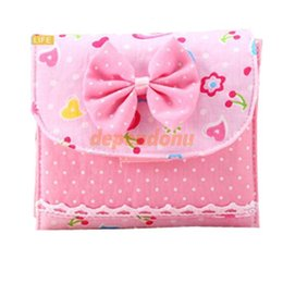Wholesale Sanitary Napkins Pads Carrying Easy Bag Small Articles Gather Pouch Case Bag