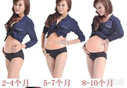 Wholesale Natural artificial belly silicone artificial belly fake pregnant belly for actors