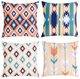 Sofa Plush Cushion Cover Bohemian