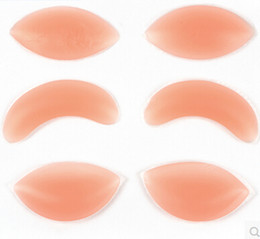 Wholesale 3 Types Women s Silicone Gel Bra Inserts Pads Breast Enhancer Push Up Padded Bra Underwear DHL