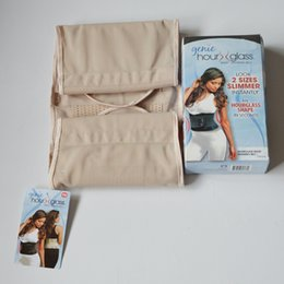 Wholesale Genie Hour Glass Waist Training Belt Slimming Belt Size L XL