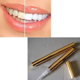 Wholesale DHL Free nbemall Factory Popular Creative Effective White Teeth Whitening Pen Tooth Gel Whitener Bleach GOCA