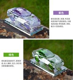 Wholesale Fashion Crystal Car Perfume Bottle Cars Car Perfume Models High Grade Crystal Perfume Automotive