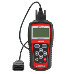 Акций США! Сканер OBD2 OBDII автомобиля диагностический инструмент Живая читатель Кода данных Проверьте инструмент автоматического сканера двигателя