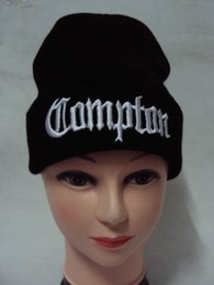 Wholesale Wholesales Fashion New style COMPTON FUCK OFF EASY Beanies Hats Wool Winter Knitted Caps and Hats