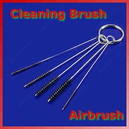 Wholesale OPHIR Set Air Brush Cleaning Tattoo Airbrush Kit Air Brush Spray Gun Tip Cleaning Brush Kit Clean Tools New_AC023 x