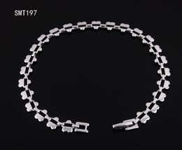 Wholesale 316l Stainless Steel woman Charms Bracelets bangles man chain for men and women jewelry Fashion best link bracelet for mens