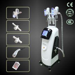 Wholesale Double cryolipolysis handle cavitation RF Lipolaser cryolipolysis in slimming machine