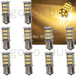 Rv Interior Led Light Bulbs: 50pcs 3000K Warm White 1156 BA15S RV Trailer Interior LED Lights Bulbs 42  SMD 2835 for,Lighting