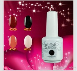 Wholesale Fashionable Gelish Nail Polish Soak Off Nail Gel For Salon UV Gel best seller VS matte nail polish